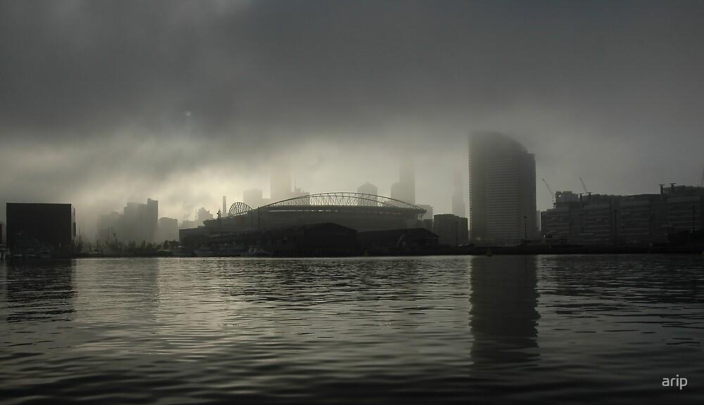 Docklands Fog by arip