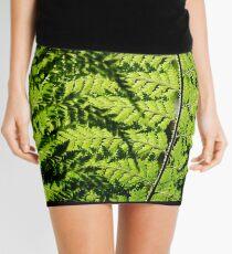 fern leaf Mini Skirt