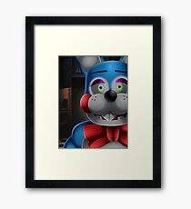 Toy Bonnie in office Framed Print