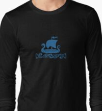 Dragon Boat - Blue Long Sleeve T-Shirt