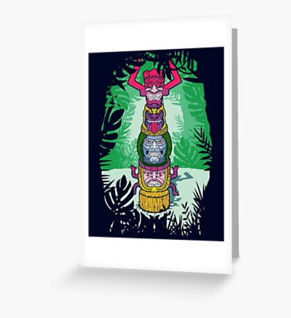 Cult of Villains. Greeting Card