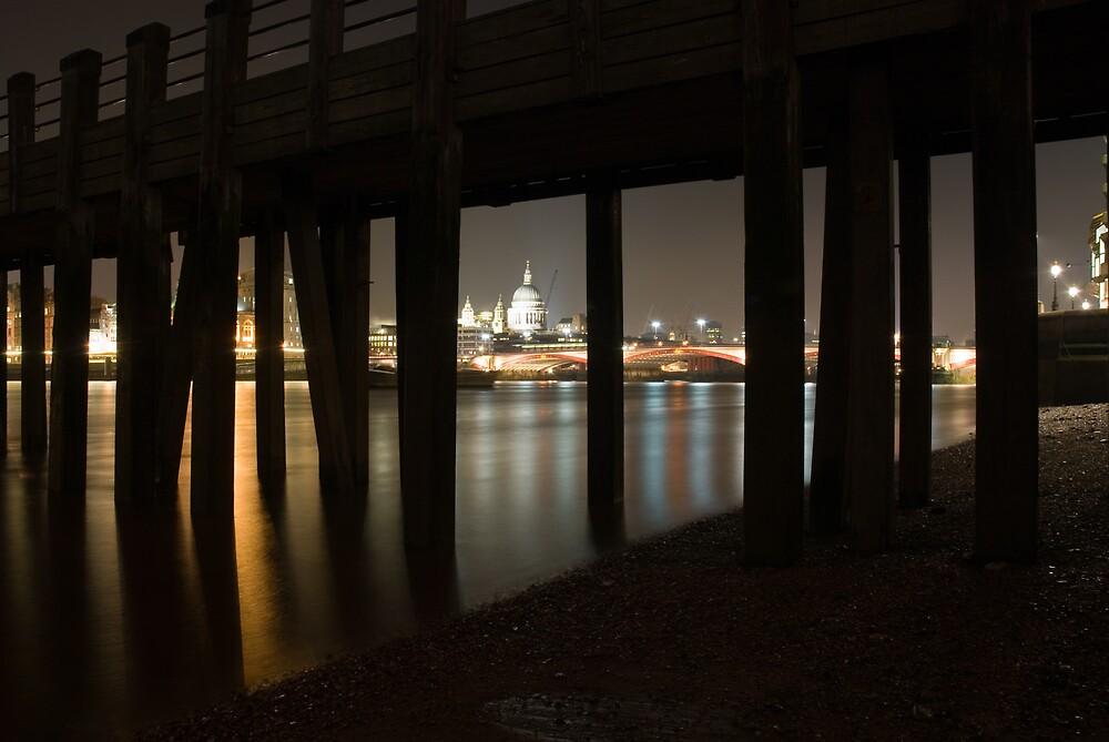 St Pauls under the pier by Rupert
