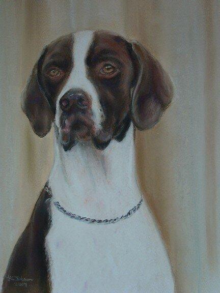 Artwork, dog. by uniqueartworks