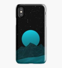 Vaporwave Phone Case (Blue Glow) iPhone Case/Skin
