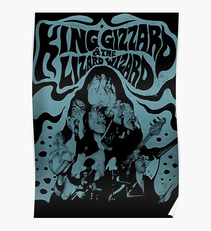 King Gizzard and the Wizard Lizard Poster