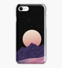 Vaporwave Phone Case (Purple) iPhone Case/Skin