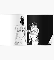 Death Grips Money Store Poster