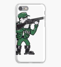 schütze jäger gewehr  iPhone Case/Skin