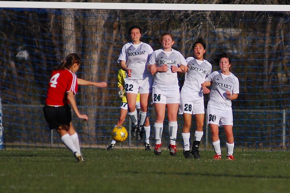 girls soccer by kevin  wiebold