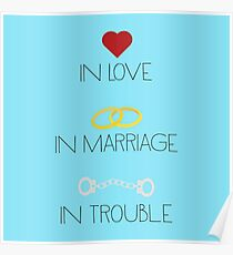 Love Marriage Trouble Poster