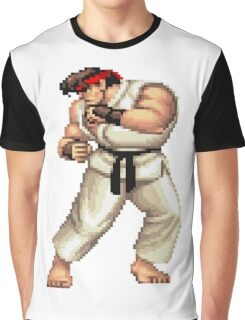 Street Fighter 2 Ryu Graphic T-Shirt