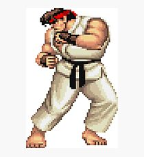 Street Fighter 2 Ryu Photographic Print