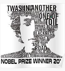 Nobel Winner 2016 Quotes Poster