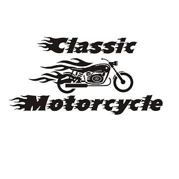 CLASSIC MOTORCYCLE by thomasoscar