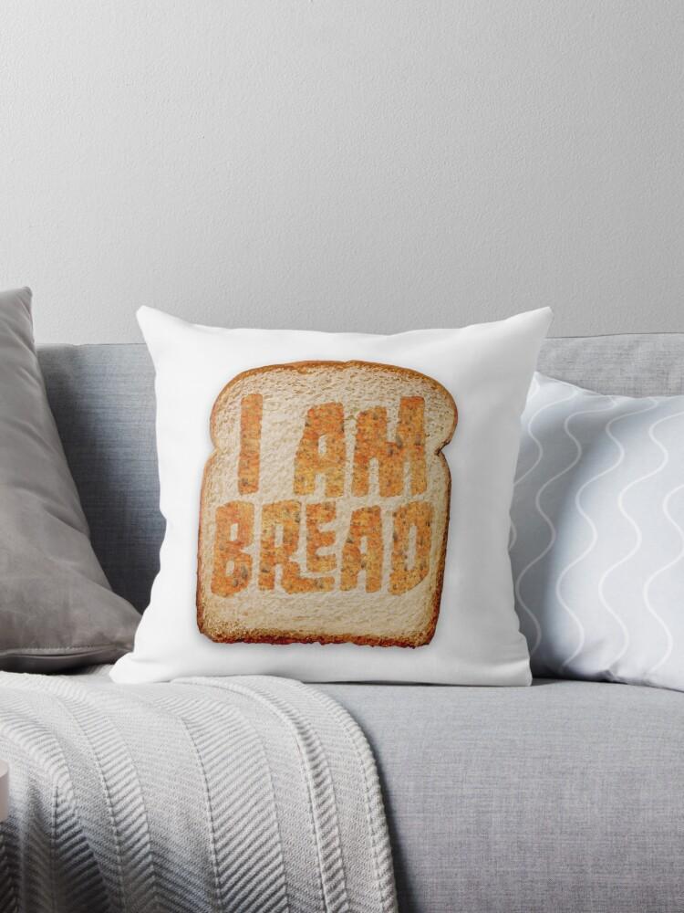 I am Bread 'Toast' logo - Official Merchandise by BossaStudios