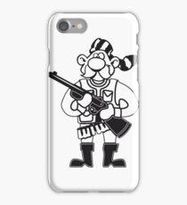 schütze jäger comic witzig  iPhone Case/Skin
