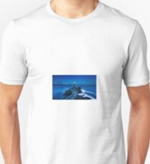 Lighthouse at Night Unisex T-Shirt