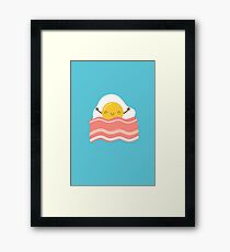 Funny Bacon and Eggs  Framed Print