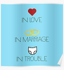 Love, Marriage and Trouble Poster