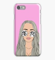 tana mongeau ME TOO Merch iPhone Case/Skin