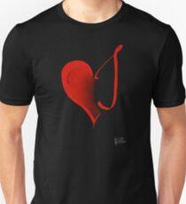 Listening Heart - Red T-Shirt