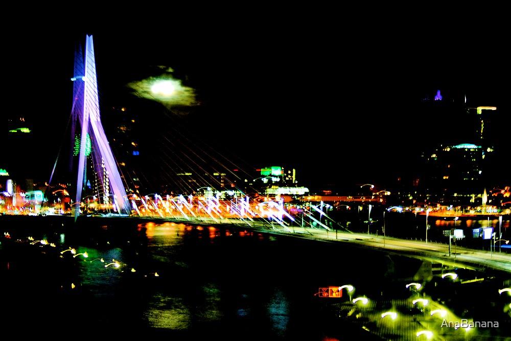 Neon Rotterdam by AnaBanana