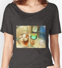 *On a Hot Day - Brandy & Dry* Women's Relaxed Fit T-Shirt