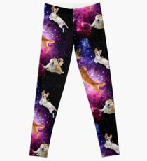 Legging Cachorros volando cosmos