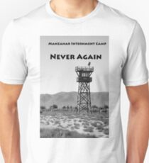 Manzanar Guard Tower, June 2016 Unisex T-Shirt