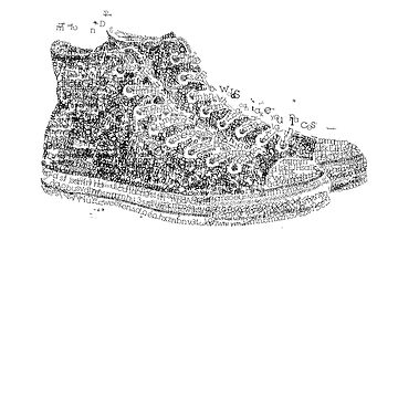 type shoe by rhinestone