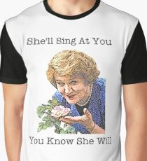 Hyacinth - Keeping Up Appearances Graphic T-Shirt