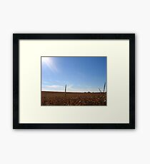 Midwest Afternoon Framed Print
