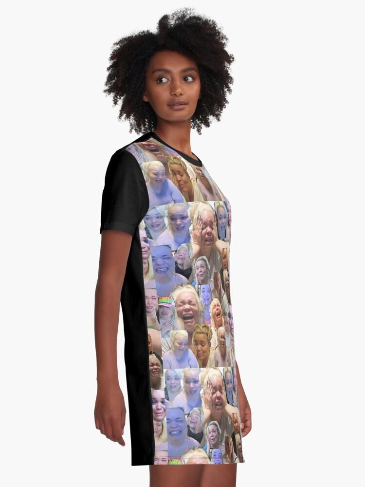 Vista alternativa de Vestido camiseta Trisha Paytas