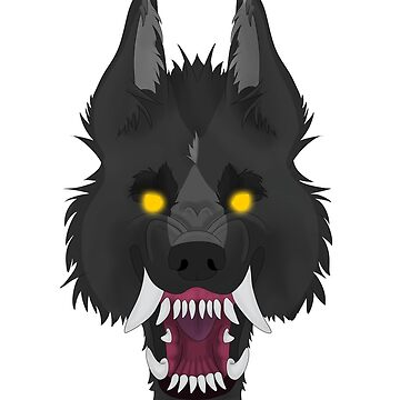Snarly Grey Wolf by PartyCoyote