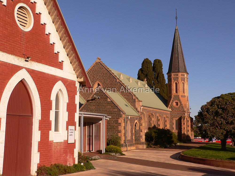 St Andrew's Uniting Church - Bacchus Marsh by Anne van Alkemade