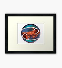 Zodiac: Cancer Framed Print