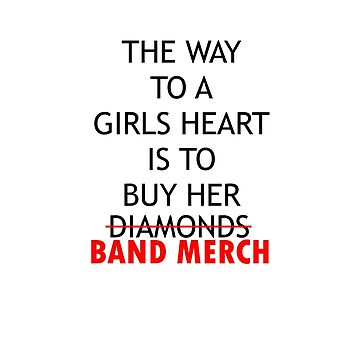 BAND MERCH by Charlize-Renay