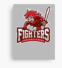Fantasy League Fighters Canvas Print