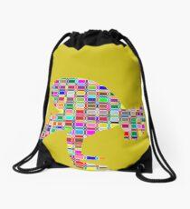YOGA. BEND IT LIKE BIKRAM Drawstring Bag 785dc02d2ac9e