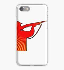 schütze gewehr zielen  iPhone Case/Skin