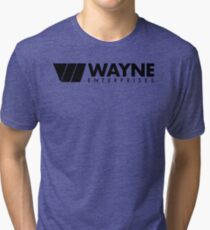 Wayne Enterprises Tri-blend T-Shirt
