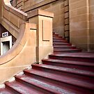 Steps through Sandstone by Jaye Heraud