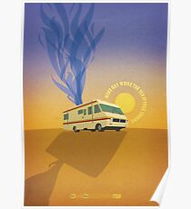 Breaking Bad - Four Days Out Poster