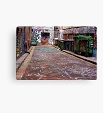 Let There Be Colour Canvas Print