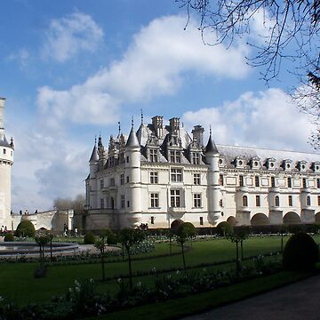 Chenonceau by pluffy