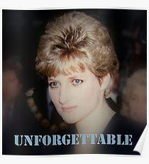 Lady D Princess Diana Poster
