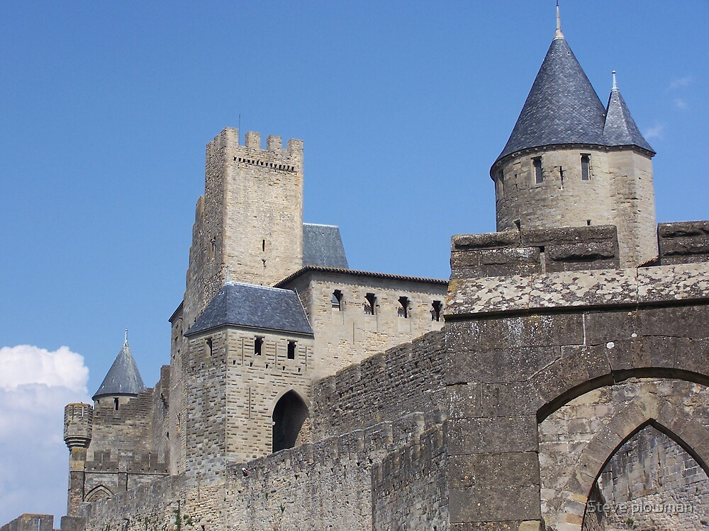 Carcassonne by Steve plowman