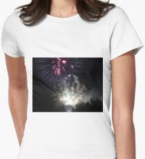 Fireworks - Raining Light Women's Fitted T-Shirt