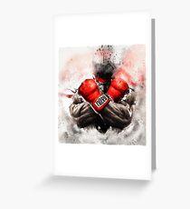 Street Fighter V Greeting Card