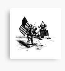 Apollo Moon Landing Canvas Print